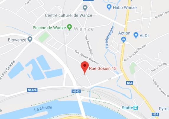 carte map Matériaux Fôret Belgique
