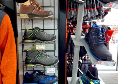 Vetements de travail chaussures - Matérieux foret Wanze