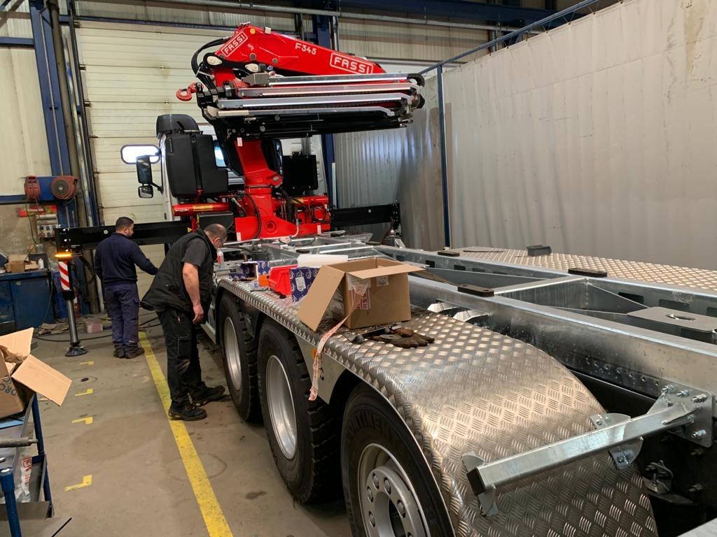 Nouveau camion 1 - Matériaux Forêts
